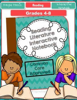 Teachers Pay Teachers Reading Literature Interactive Notebook