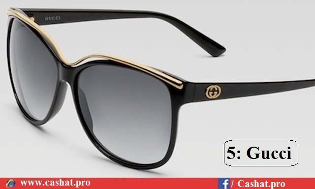 772ea36cd في المركز الخامس نجد نظارات غوتشي المميزة أيضاً والفرنسية الصنع وهي من أكثر  الماركات طلباً على مستوى العالم وتتناسب مع رغبات ومتطلبات الجميع من رجال  ونساء ...