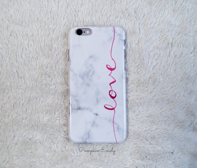Tumblr DIY Marble Phone Case