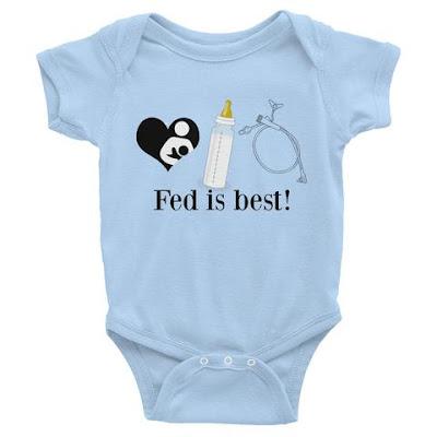 Fed is best bodysuit