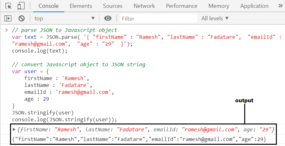 Javascript Json Apis  Methods Guide