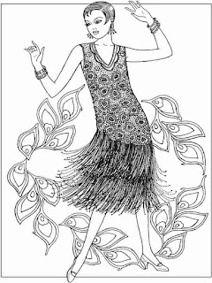 charming flower fashion coloring pages for adult printable