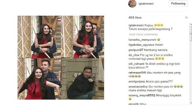 LAGI HEBOH - Andhika Pratama Tertangkap Kamera Peluk Ariel Tatum, Disarankan untuk Ingat Istri di Rumah