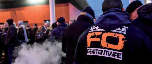 FO44 soutient l'action des agents des centres pénitentiaires