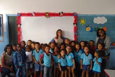 IMPORTÂNCIA DA ÁGUA: SAAE realiza palestra para alunos da Escola Municipal Doutor Carlos Santana, em Alagoinhas