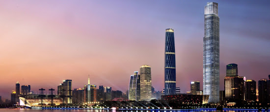 廣州國金中心(IFC)  廣州周大福金融中心(CTF Finance Centre)