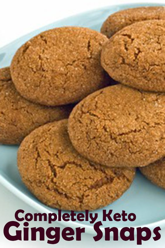 Harlan Kilstein S Completely Keto Ginger Snaps Amanda Food