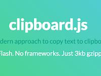 Tạo khung chứa code có nút copy to clipboard cho blogspot