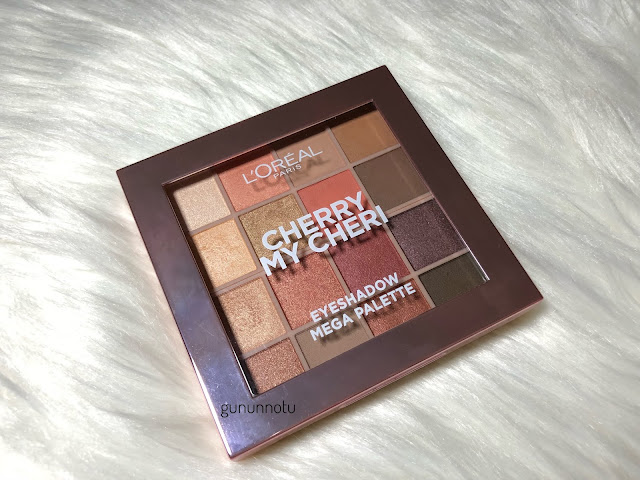 L'oreal Paris Cherry My Cheri Eyeshadow Mega Palette