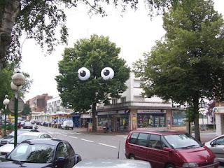 olhos de isopor