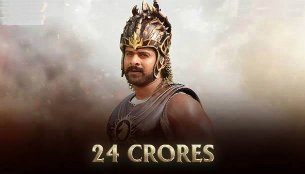 The remuneration claimed by Prabhas for playing the lead through 2.5 yrs of call-sheets