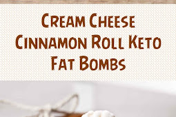 Cream Cheese Cinnamon Roll Keto Fat Bombs