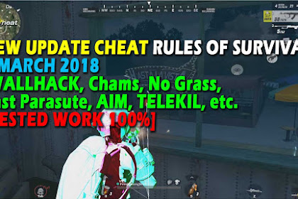 Cheat Rules of Survival Update 6 maret 2018 Leusin 1.0!