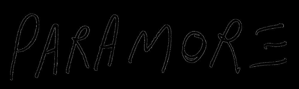 paramore logo 2017 font - photo #7