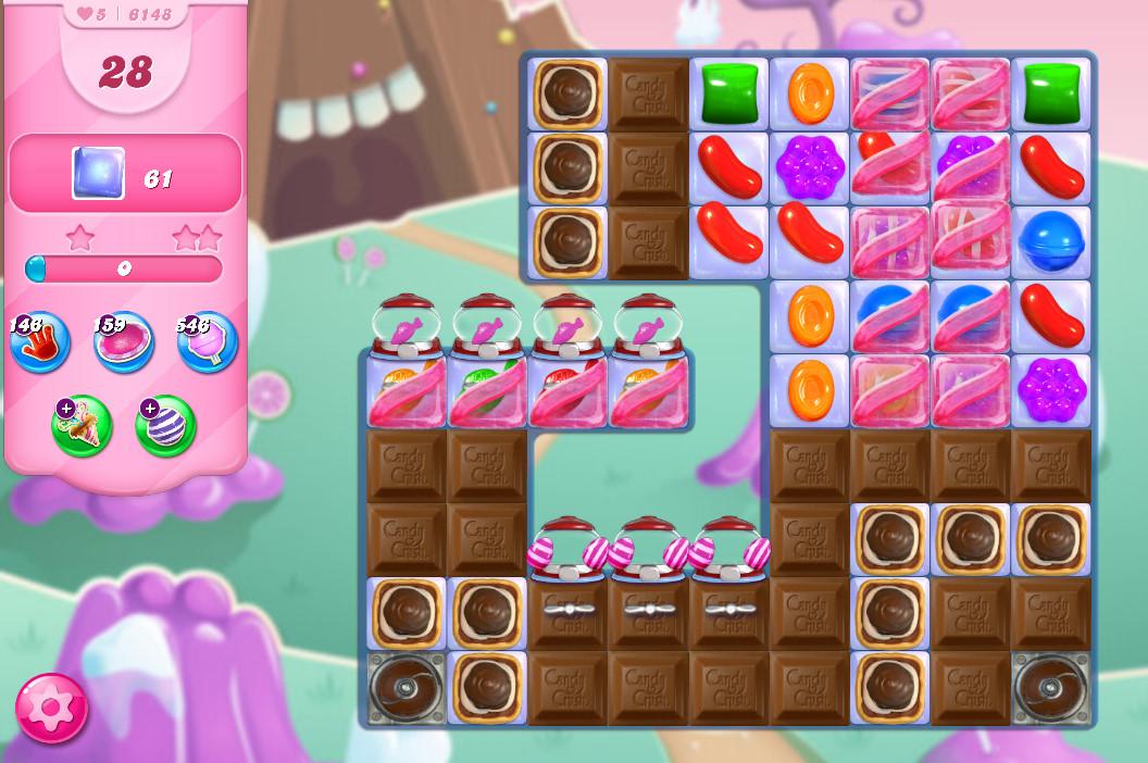 Candy Crush Saga level 6148
