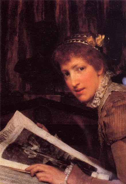 Lawrence Alma-Tadema Interrupted