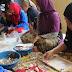 Kreatifitas Figura dan Bros dari Limbah Kayu, Karang, kerang dan daun kering