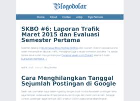 kisah sukses blogodolar