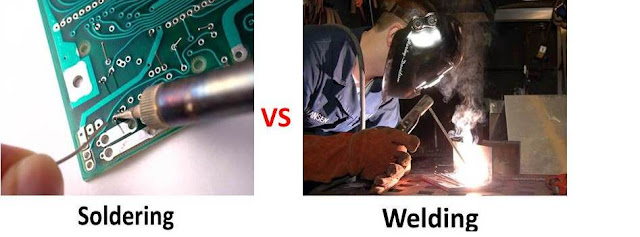 Difference between Soldering and Welding