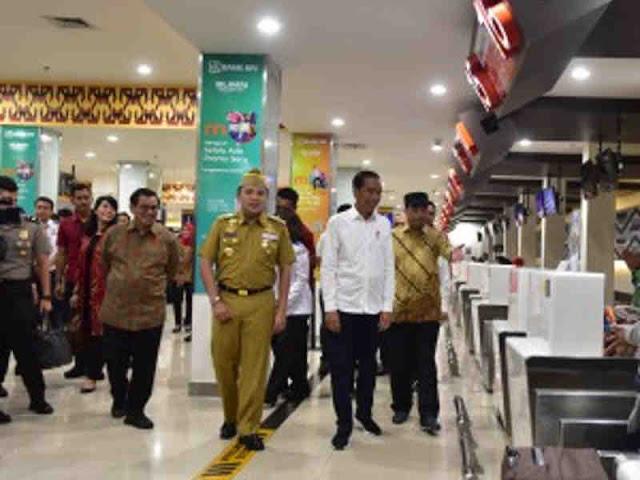 Jokowi Resmikan Terminal Baru Bandara Udara Silampari Lubuklinggau