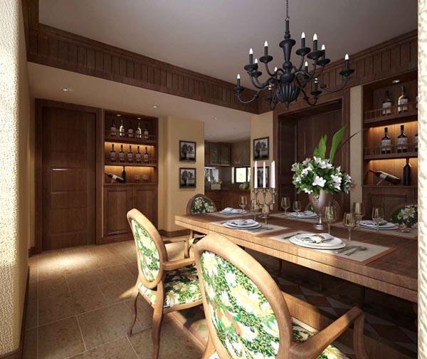 American home restaurant 3D model free 3d max model