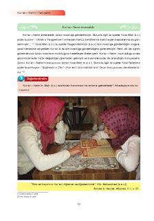 7. Sınıf Kuranı Kerim Ders Kitabı Cevapları Ata Yayınları Sayfa 12