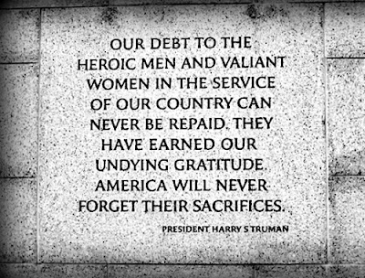 Happy Memorial Day 2016: our debt to the heroic men and valiant women in the service of our country can