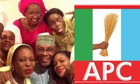 'They Think All Nigerians Are Stupid' -Atiku's Daughter Shades APC, says blackmail against PDP will not work