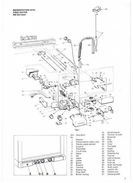 Dometic Rm 2501 Service Manual