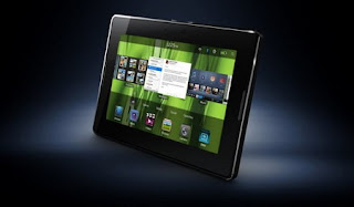 BlackBerry PlayBook tablet and BlackBerry Tablet OS unveiled + Video