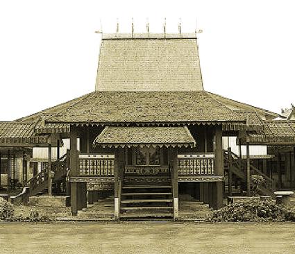 Seni Wisata Budaya Keunikan Sejarah Rumah Adat Tradisional Banjar Bubungan Tinggi Kalimantan Selatan