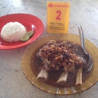 Resep membuat sop konro khas Makassar