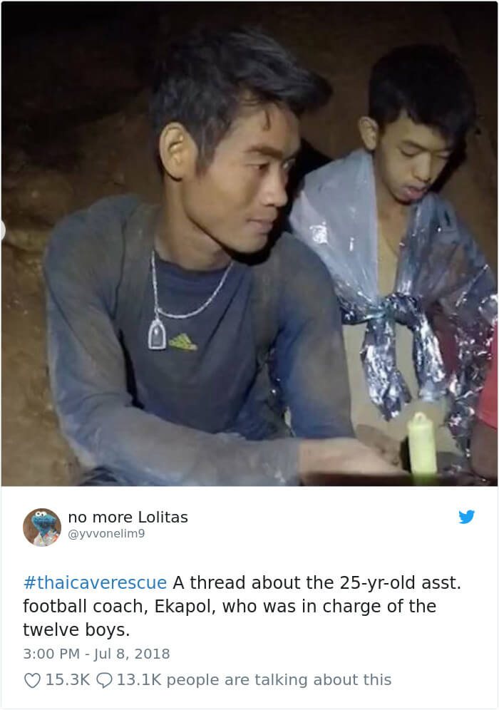 This Is The Courageous Story Of How The Football Coach Kept 12 Boys Alive For 18 Days, Trapped In The Thai Cave