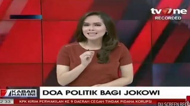 Jangan Emosi, Ini 3 Ejekan Presenter TV One Windy Kepada Jokowi Lewat Akun Twitternya