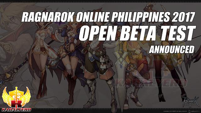 Ragnarok Online Philippines 2017 Open Beta Test Announced