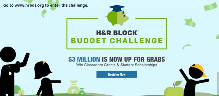 The True Adventu...H R Block Budget Challenge