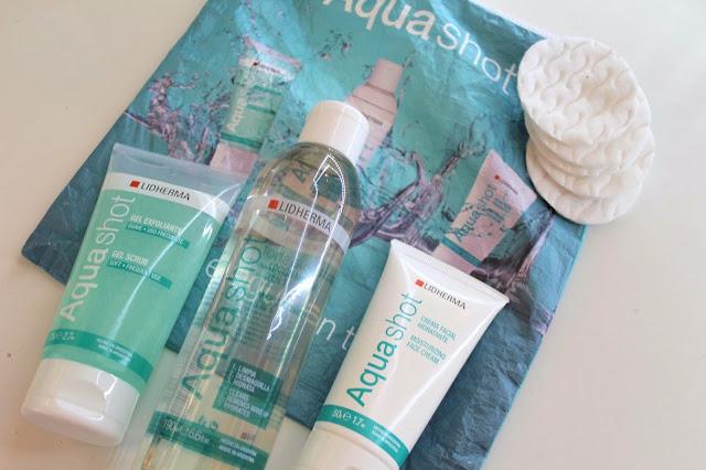 Aqua Shot de Lidherma, rutina de cuidados para piel joven