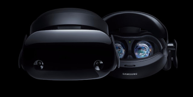 Samsung Unveils HMD Odyssey: Mixed Reality Headset For Microsoft Windows, Priced at $499