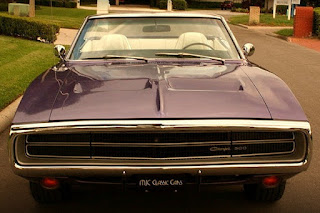 1970 Dodge Charger 500 Sports Convertible Front