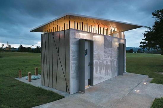 9 Desain toilet minimalis di ruang publik