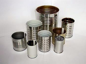 Reciclaje de latas para decoracion de exteriores