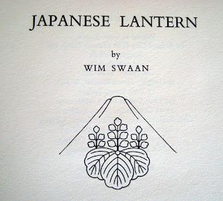 Japanese Lantern, Wim Swaan