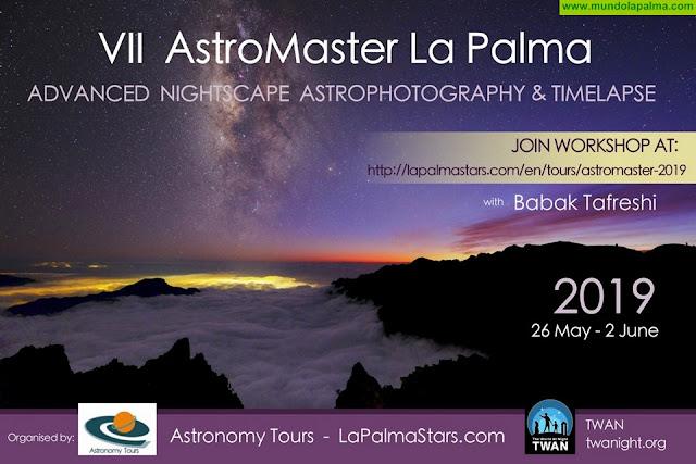 'Astromaster' vuelve a convertir a La Palma en el epicentro profesional de la astrofotografía internacional
