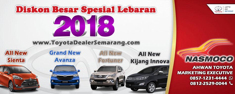 Spesial Promo Lebaran Diskon Besar - Toyota Semarang