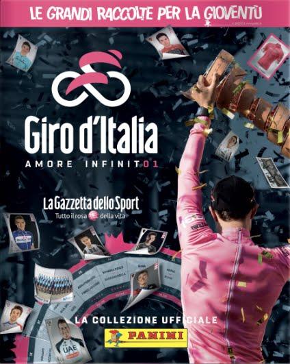 Giro d'Italia 101, la raccolta delle Figurine Panini sulla Corsa Rosa