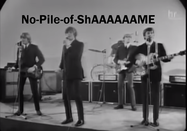 "Screen cap of Herman's Hermits singing ""No Milk Today"""