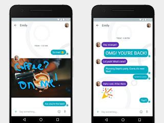 Google Allo Duo üzenetküldő alkalmazás