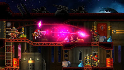 SteamWorld Heist The Outsider Gameplay