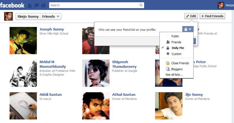 WTH Blog : How To Hide Friends On A Facebook Profile