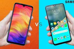 Review dan Spek Xiaomi Redmi Note 7 vs Samsung M20, Mana Yang Lebih Tanggu ?